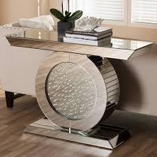 hollywood regency mirrored furniture. Hollywood Regency Mirrored Console Table Furniture N