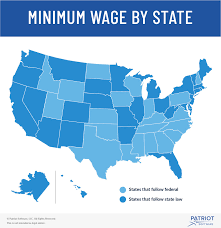 Minimum Wage Law Federal State And Local Minimum Wage Rates