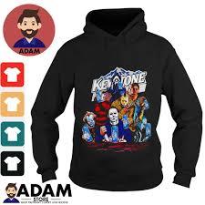 Keystone Light Sweatshirt Horror Characters Drinking Keystone Light Shirt Hoodie Sweater