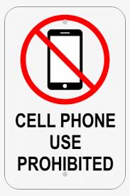Sketch Icon Of A No Cell Phone Sign Mobile Phone Png Image
