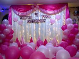 Small Picture Birthday Decoration At Home For Baby Girl Image Inspiration of