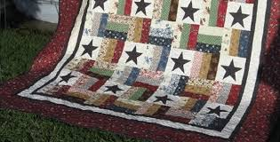 There are So Many Color Options for This Quilt - Quilting Digest & Stars and Stripes Quilt Pattern Adamdwight.com