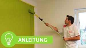 Wände Streichen Wände Einfach Farbig Streichen Mit Sauberen Kanten
