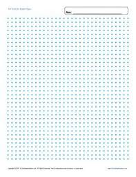 Printable Graph Paper 1 4 Inch Grid Dot Free Blank Template