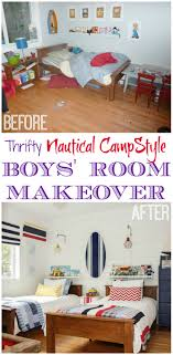 Nautical Childrens Bedroom Our Boys Bedroom Reveal It Is Finally Here The Happy Housie