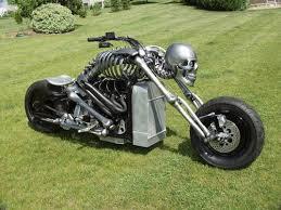 One of a Kind Motorcycle Masterpiece – IronDeath <b>Skeleton Bike</b> ...
