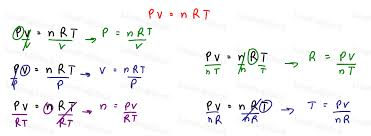 memorizing mcat equations by rewriting pv nrt example