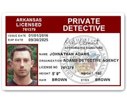 Card C510pvc Private Id Detective Pvc