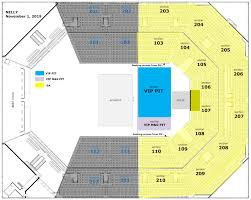 Nku Seating Chart Nelly At Bb T Arena