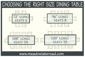 what size round table seats 10 table seats dining room table round table chairs what size