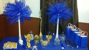 Blue And Gold Baby Shower Decorations Uncategorized Richmilannovels Page 2