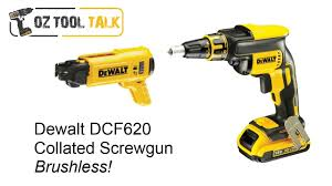 dewalt screw gun. dewalt 18v dcf620 - brushless collated screwgun detailed review youtube screw gun