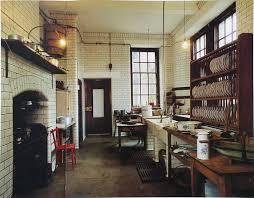 Victorian Kitchen Floor Victorian Era Kitchen Floor To Celing Subway Tile With Grey Grout