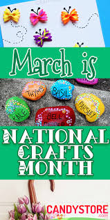 national craft month best diy crafts
