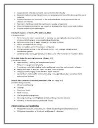 Academic Resume Sample Academic Resume Sample School Librarian Resume Sample Law Public 58