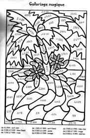Coloriage Magique Maths Cm2 L L Duilawyerlosangeles