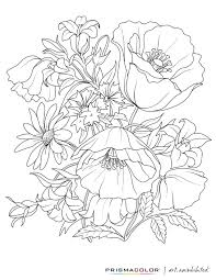 461e4adf175033df3017066f5381bf1a flowers bouquette color coloring pages colouring adult detailed on abc printable oscar ballot