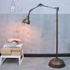 ... Lamp, Industrials Angle Poise Industrial Floor Lamp Ideas: Terrific Industrial  Floor Lamp For Sale ...