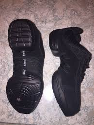 Balera Black Dance Hip Hop Shoes Size 6 Am Style B190