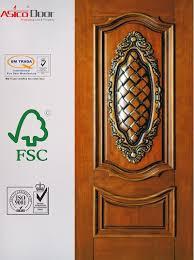 china beautiful veneered wooden door with fashionable design nature solid wood veneer door china solid wooden door wooden veneer door