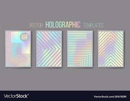 Holographic Templates Shiny Mat