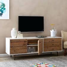 white media console furniture. Revamp White Media Console Furniture