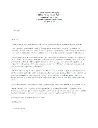 Elementary Education Cover Letter – Resume Sample Web