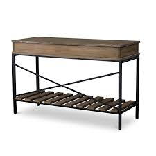 metal console table. amazon.com: baxton studio newcastle wood and metal criss-cross console table, brown: kitchen \u0026 dining table t