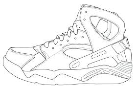 Jordan Shoes Coloring Pages Special Offer Shoes Coloring Pages