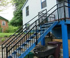 prefab stairs outdoor stair kits kit stringers by fast 1