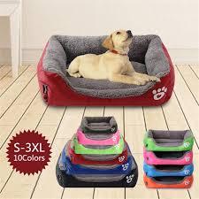 (<b>S 3XL</b>) <b>Large Pet</b> Cat <b>Dog</b> Bed 8Colors Warm <b>Dog</b> House Soft ...