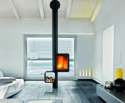 Wood Stove Living Room Design Grappus Focus