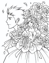 Adult Manga Coloring Pages Printable Manga Coloring Pages For Adults