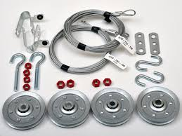 garage door pulleys and cables