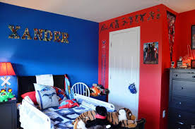 back to spider man in superhero bedroom ideas
