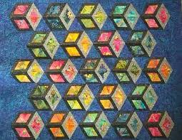 tumbling blocks quilt pattern   Thread: Tumbling blocks - How to ... & tumbling blocks quilt pattern   Thread: Tumbling blocks - How to start Adamdwight.com