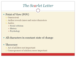 the scarlet letter characters the scarlet letter characters  the