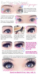 eye make up tutorial great baby doll look