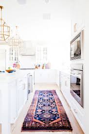 navy kitchen rug