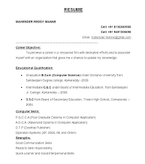Latest Format Of Resume Sample Of A Resume Format Resume Template