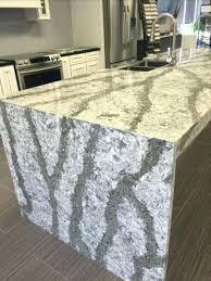 engineered quartz countertops. Engineered Quartz Countertops Waterfall Plans Countertop Cost Per Sq Ft