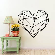 Small Picture Popular Heart Wall Decals Buy Cheap Heart Wall Decals lots from