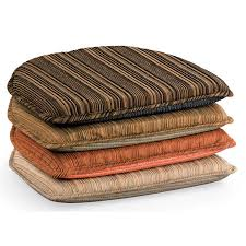 chair pads. harmony stripe chair cushions pads p