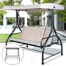 canopy swing replacement parts deck swings with mainstay porch yard garden frame