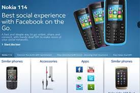 Nokia 114 with dual-sim and Facebook ...