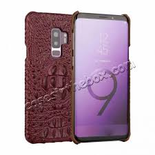 genuine leather case for samsung galaxy s9 plus