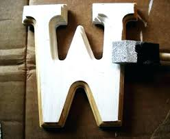 en giant wooden letters uk