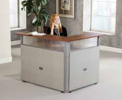fabulous small reception desk home desk design ideas