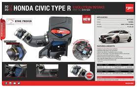 Honda Civic Design Evolution Injen Evolution Airbox Civic 2017 2 0 Type R Turbo Fk8
