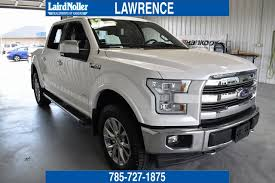 Pre-Owned 2017 Ford F-150 Lariat 4D SuperCrew in Topeka #PL3821 ...